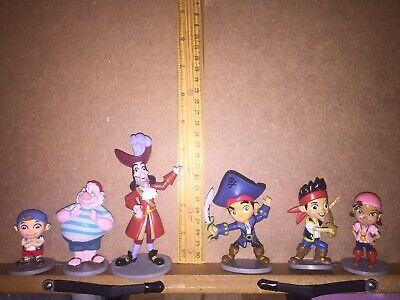 jake and the neverland pirates 6 figures Captain Hook and Jake Cubby Izzy