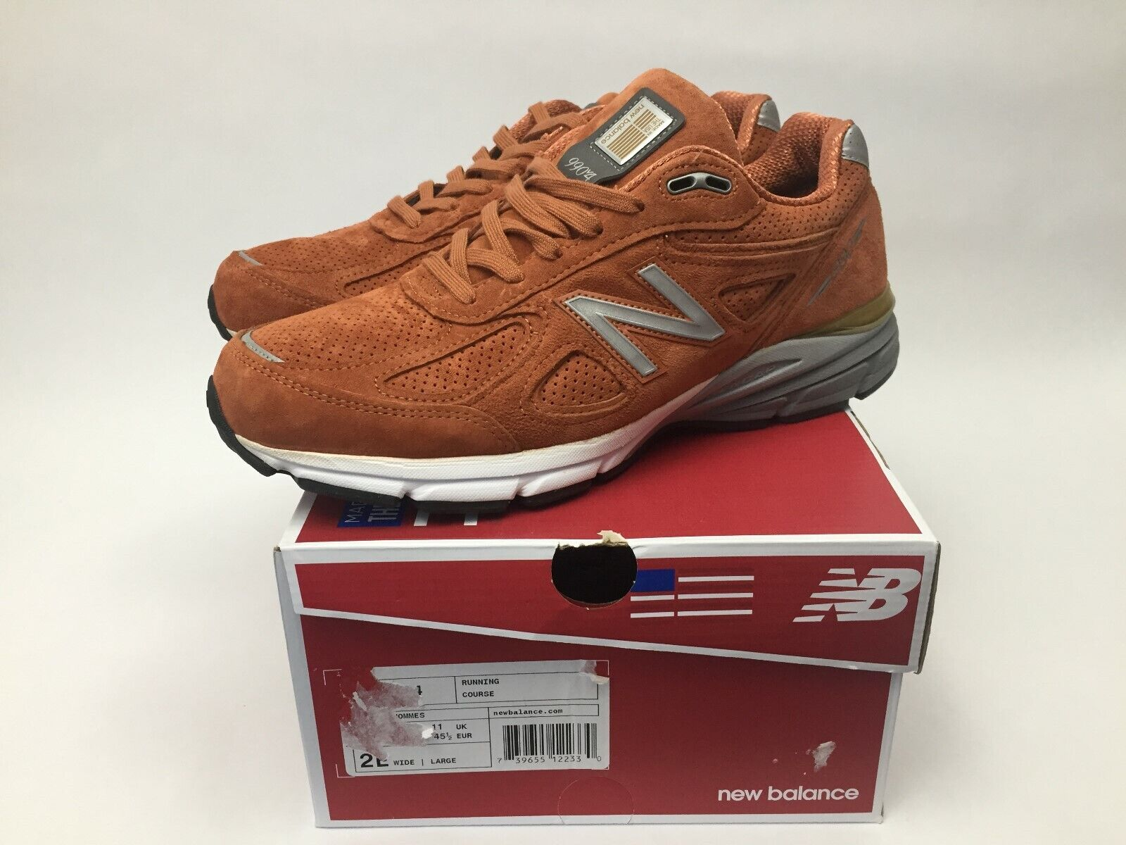 New Balance Made In The USA 990V4 Running Mens Size 10 Jupiter M990JP4