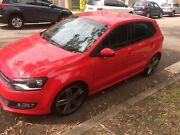 2012 red Volkswagen polo auto 6 months rego Pennant Hills Hornsby Area Preview