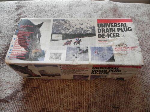Universal Drain Plug De-Icer Model 2002DP, 1500 Watts, 120V