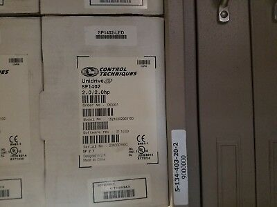 New Emerson Control Technical Unidrive Sp1402 Drives