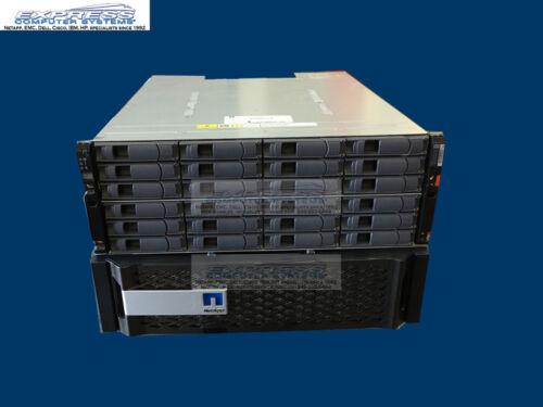 Netapp Fas8020a W/ Ds4246 24x 4tb 7.2k Nl Sas X477a-r6 Fas8020 Dual Ctrl San