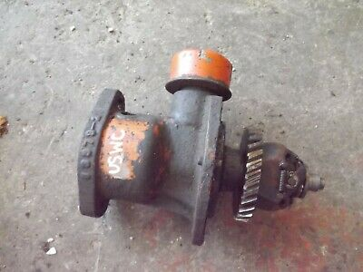 Allis Chalmers Unstyled Wc Tractor Engine Distributor Drive Governor Assembly Ac
