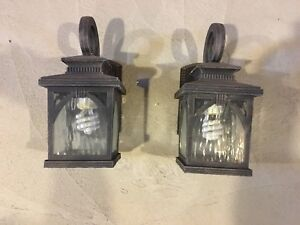 Exterior Wall Mounted Coach Lights