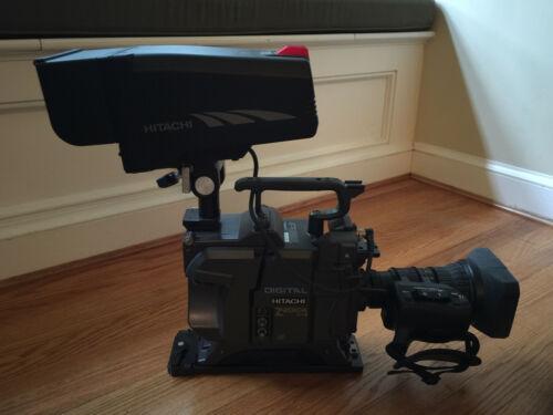 Hitachi Z-2010A Studio Video Camera Set (+Viewfinder/Zoom Control)