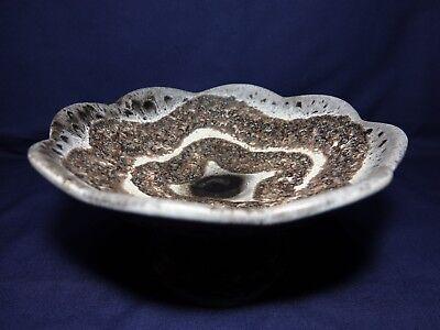 Keramik Schale mit Fuß Obst Schale Süßigkeiten Dekoration etc. 24 cm TOP Art****