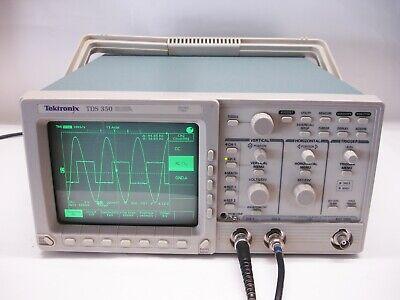 Tektronix Tds350 200 Mhz 2 Channel Digital Oscilloscope.....