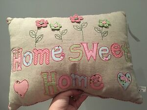 Brand new shabby chic 'Home Sweet Home' decorative cushion Horseshoe Bend Maitland Area Preview