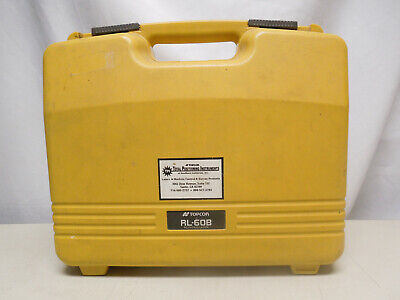 Used Topcon Model Rl-60b Rotary Laser Levellaser Receiverclamp 300m1000 Foot