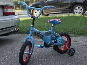 1  month old Paw patrol toddler 2-4 year old childs bike.