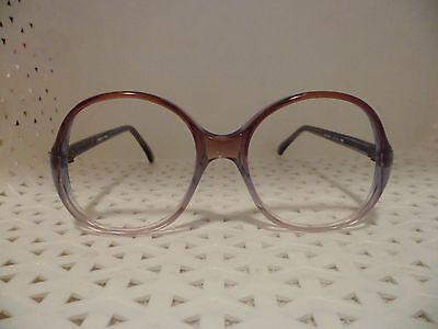 Jocelyne by SWANK Eyewear Blue/Brown Vintage 80's Womens Eyeglass Frames  (TF9@