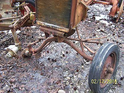 Ac Allis Chalmers B C Tractor Front Axle Assm Off B C Ca Look Descript C. Ca
