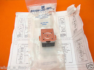 NEW Bradford White Electric Water Heater Thermostat 265-402-8800 Lower