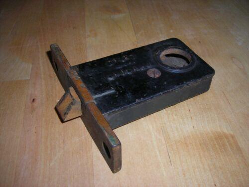 Antique Mortise Lock Door Hardware NILES Chicago Brass Steel