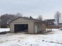 Pole barns, fences, garages. Dalco Construction.