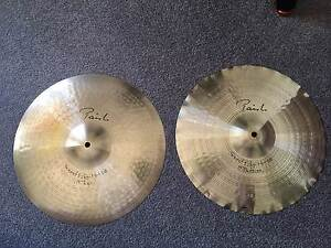 "Paiste 15"" Signature Sound Edge Hi Hats Cymbals Newcastle Newcastle Area Preview"