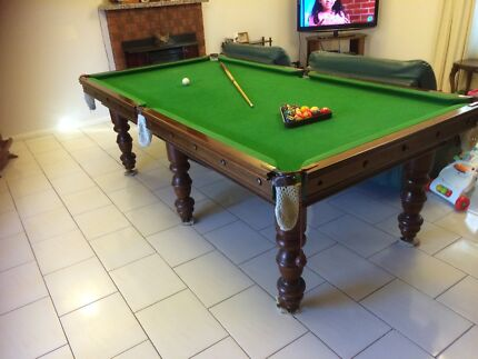 8 x 4 slate billiard table - used condition  Taylors Lakes Brimbank Area Preview
