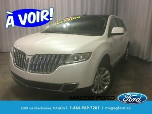 2011 Lincoln MKX GPS CUIR TOIT PANO CAMERA BANCS CHAUFFANTS