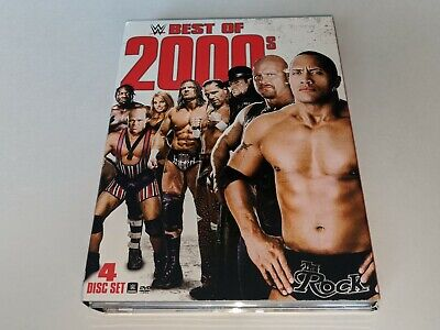 WWE BEST OF THE 2000s 4-Disc WWE Wrestling DVD Set Match Collection HBK/The