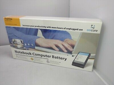 New Sealed Oncore Notebook Computer Laptop Battery Toshiba Tecra 8200 Series 8200 Series Notebooks