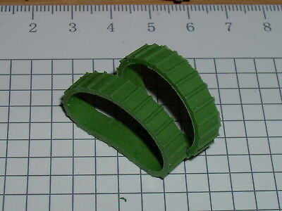 Replacement Tractor Treads for Moko Matchbox Lesney 8a or 18a Caterpillar models