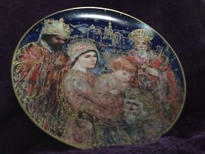 Beautiful Christmas Collectors Plate