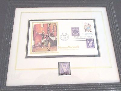 """Norman Rockwell """"The Homecoming"""" Win the War Collectible Stamp First Day Issue"""