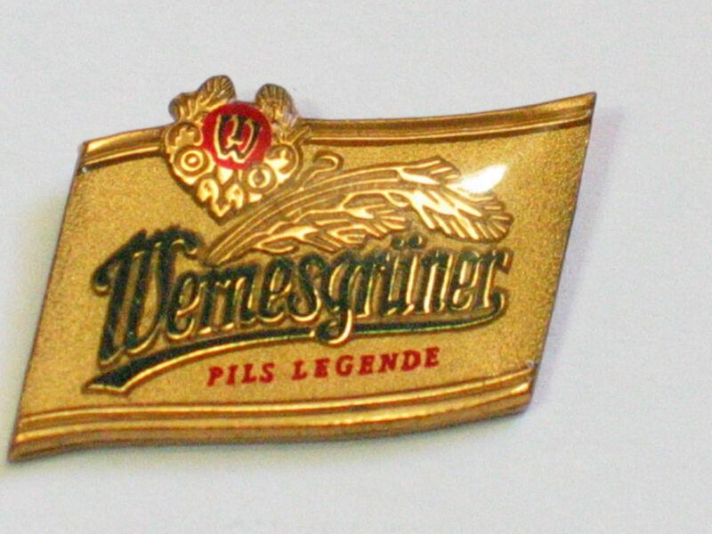 Wernesgruner Pils Legend German Beer Pin , (**)