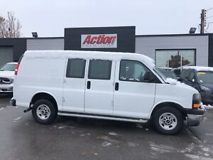 2017 GMC Savana 2500 chrome. loaded. fin or leasing available OA
