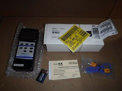 New Fisherbrand Traceable 15-077-26 Double Thermometer With Computer Output
