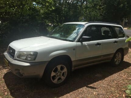Subaru Forester 2003 xs