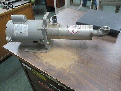 Franklin Electric Motor W Booster Pump 1103025400 34hp 3600rpm Fr56j 1ph Used