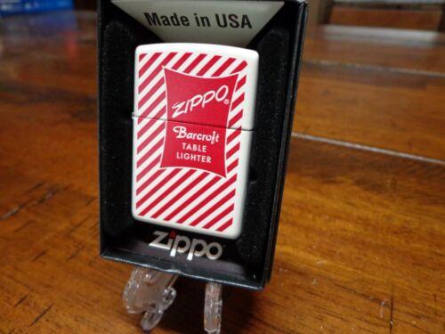 ZIPPO 1954 TABLE LIGHTER BARCROFT BOX DESIGN ZIPPO LIGHTER MINT IN BOX