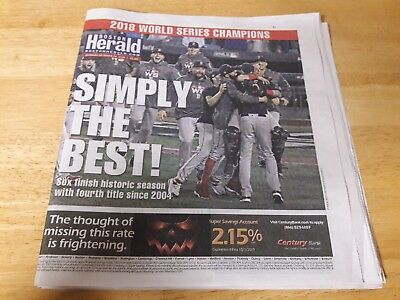 Boston Red Sox 2018 World Series Champions Boston Herald Simply the Best.Unread