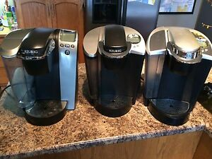 3 Keurig Coffee Makers - Clean!
