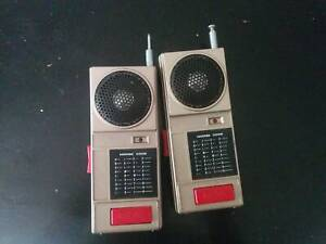 Vintage Morse Code Walky Talkys from the 1980's