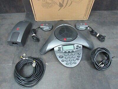 Polycom Soundstation Vtx 1000 Conference Phone System 2201-07142-601