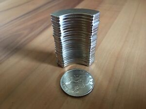 LOT OF 24  Neodymium Rare Earth Magnet Hard Drive Magnet
