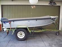 Quintrek Alloy Tinny with Motor and Trailer Seaton Charles Sturt Area Preview