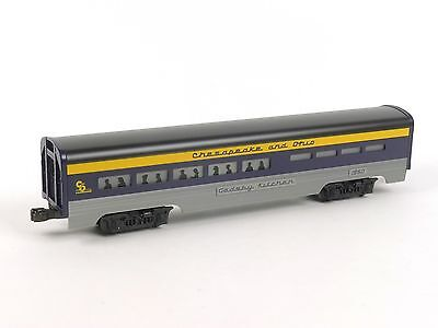 Lionel 6-19149 Chesapeake Ohio Dining Passenger Car O Scale Model Trains