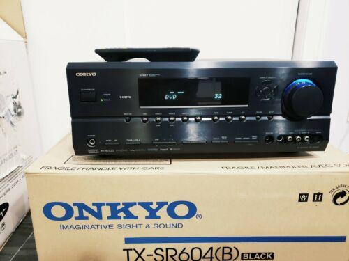 Onkyo TX-SR604(B) 7.1 Channel 630 Watt XM Ready HDMI Home Theater Receiver