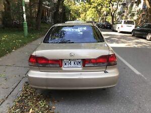 HONDA ACORD 4 doors 2001