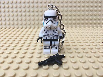 Star Wars Stormtrooper Mini Figure Keyring / Keychain UK SELLER
