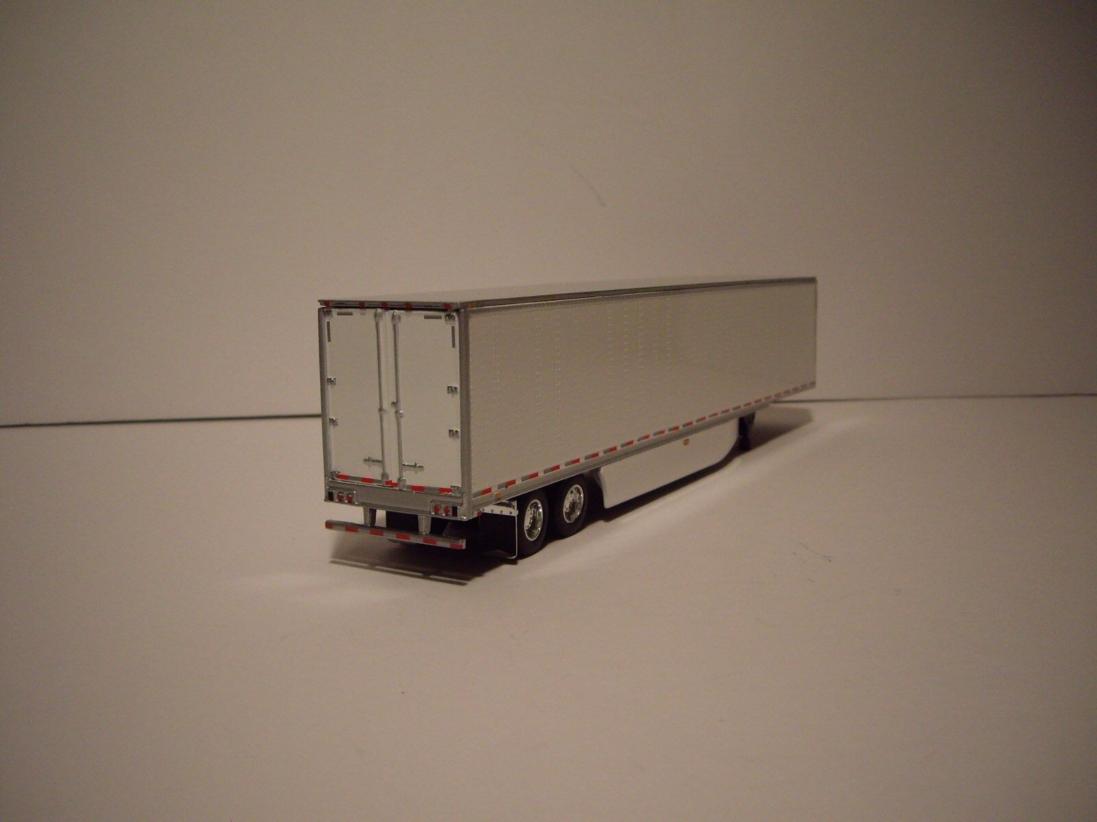 DCP 1/64 RED AND BLACK WESTERN STAR 5700XE W/T 68'' SLEEPER AND DRY VAN TRAILER 7