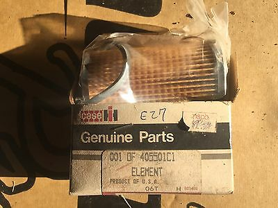 International Harvester 815 915 Combine Gas Filter Nos 40551c1