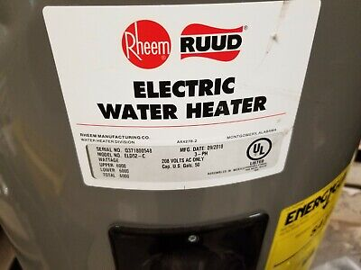Rheem Electric Hot Water Heater 3 Phase