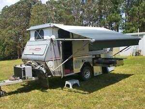 "Offroad Caravan Eclipse 1 Australian Off Road Campers 2009 4.2m 13' 9"""