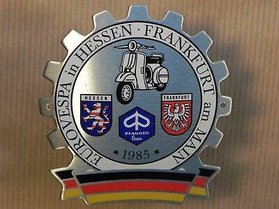 Vespa EuroVespa 1985 Badge