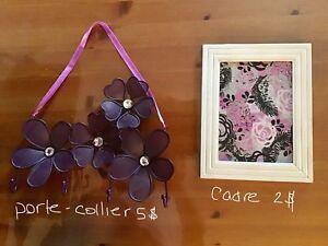 Decoration mauve pour fille/Girls purple decoration