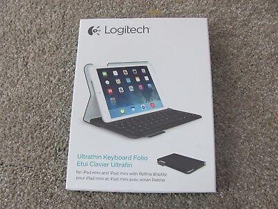 Logitech Ultrathin Keyboard Folio for iPad Mini 1/2/3- Carbon Black  920-005893